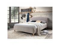 Ágy ágyráccsal, 160x200, bézsszövet, RUPA CF 8814, Kategória:Ágyak, ágykeretek, Szélesség:cm Hosszúság:cm Magasság:cm