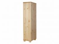 Claudia félszekrény polcos 45 mély, Kategória:Fenyő szekrények, Szélesség:180cm Hosszúság:40cm Magasság:45cm