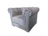 Modern fotel, mintás textil, PEPITO 2 típus, Kategória:Fotel, Szélesség:cm Hosszúság:cm Magasság:cm