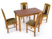 BOSS 4+1 étkezőgarnitúra, Kategória:Étkező garnitúrák, Szélesség:cm Hosszúság:cm Magasság:cm