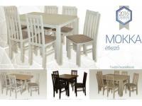 Kis Mokka asztal: 80 cm (125) x 80 cm, Kategória:Étkező asztalok, Szélesség:80cm Hosszúság:80cm Magasság:73cm