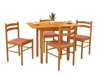 Pizza 4+1 étkezőgarnitúra, Kategória:Étkező garnitúrák, Szélesség:cm Hosszúság:cm Magasság:cm