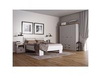 PROVANCE modern halószoba szett, szekrény +ágy + 2 x éjjeliszekrény, fenyő andersen/lefkas tölgyfa, Kategória:Szekrénysorok, Szélesség:cm Hosszúság:cm Magasság:cm