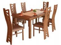 Stella 6+1 étkezőgarnitúra, Kategória:Étkező garnitúrák, Szélesség:cm Hosszúság:cm Magasság:cm