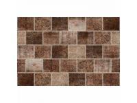 Szőnyeg, barna, 160x230, ADRIEL tip 2, Kategória:Egyéb bútorok, Szélesség:cm Hosszúság:cm Magasság:cm
