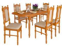 Vénusz 6+1 étkezőgarnitúra, Kategória:Étkező garnitúrák, Szélesség:cm Hosszúság:cm Magasság:cm
