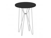 RUBEN ST32 Kézi asztalka anyag: MDF/ fémszín: fekete tölgy /fehér lábak, Kategória:Asztalok (dohányzó), Szélesség:cm Hosszúság:cm Magasság:cm