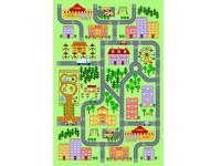 Szőnyeg, színes, 130x200, EBEL, Kategória:Egyéb bútorok, Szélesség:cm Hosszúság:cm Magasság:cm