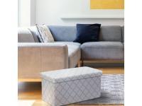 Ülőke, fehér-szürke, KABALA, Kategória:Étkező székek, Szélesség:cm Hosszúság:cm Magasság:cm