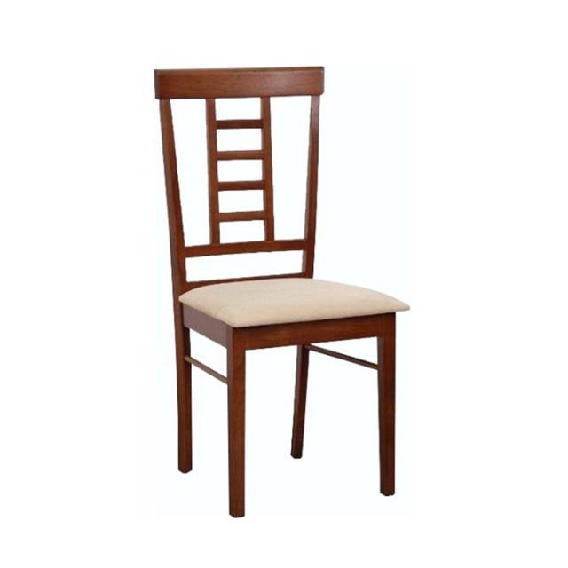 Étkezőszék, dió/ krémszínű anyag, OLEG NEW, Kategória:Étkező székek, Szélesség:cm Hosszúság:cm Magasság:cm