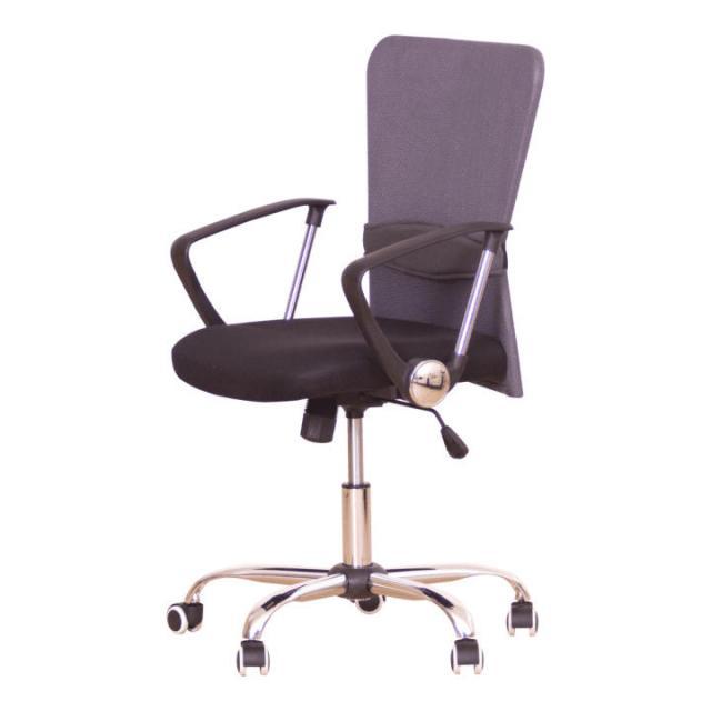 Irodai szék, fekete ülés, háttámla szürke, AEX, Kategória:Irodaszék, Szélesség:cm Hosszúság:cm Magasság:cm