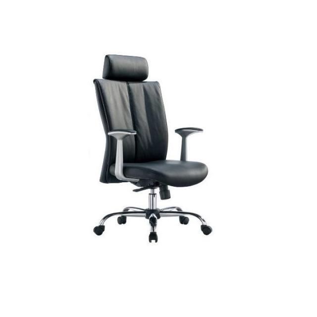 Irodai szék háló + krómozott alsó rész, színváltozat: fekete ekobőr, kartámasz piros, HABIB, Kategória:Irodaszék, Szélesség:cm Hosszúság:cm Magasság:cm