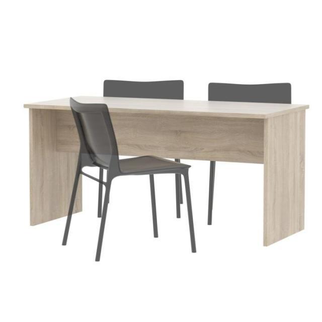 Kétoldalas íróasztal, sonoma tölgyfa, JOHAN 08, Kategória:Íróasztalok, Szélesség:cm Hosszúság:cm Magasság:cm