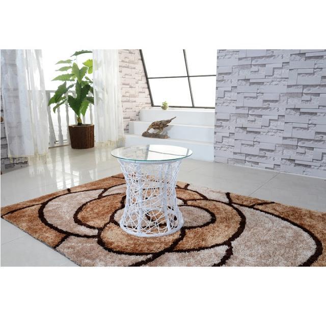 kiegészítö asztalka, fehér keret+üveg ,SALMAR, Kategória:Asztalok (dohányzó), Szélesség:cm Hosszúság:cm Magasság:cm