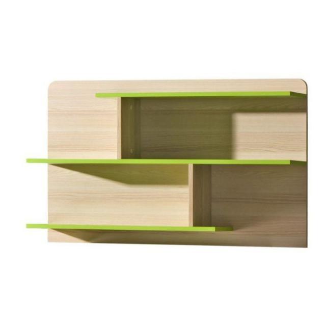 Kombinált polc, kőrisfa/zöld, EGO L8, Kategória:Polcok, Szélesség:cm Hosszúság:cm Magasság:cm