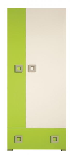 Labirynt LA1 szekrény, Kategória:Szekrények, Szélesség:80cm Hosszúság:52cm Magasság:197cm