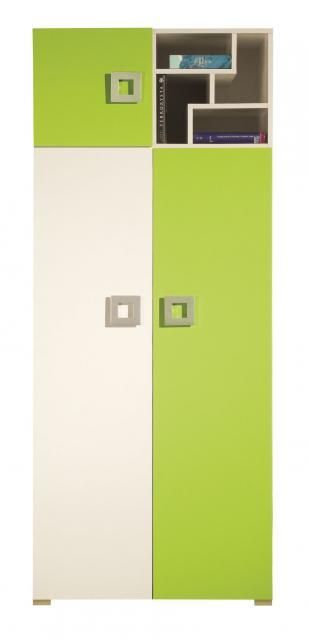 Labirynt LA2 szekrény, Kategória:Íróasztalok, Szélesség:80cm Hosszúság:52cm Magasság:197cm