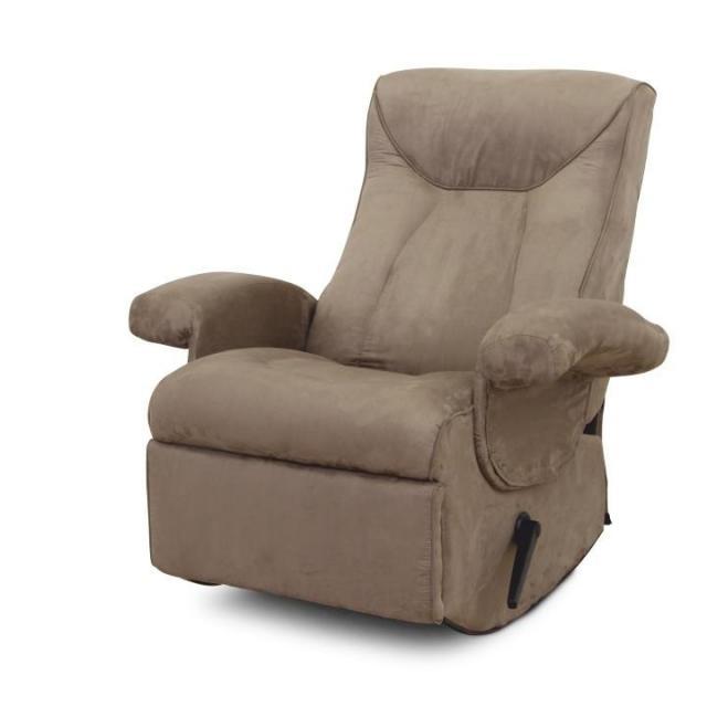 Mechanikusan állítható pihenő fotel, szürke textil, SUAREZ, Kategória:Fotel, Szélesség:cm Hosszúság:cm Magasság:cm