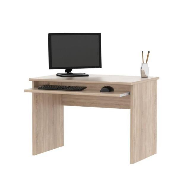 PC asztal, sonoma tölgyfa, JOHAN 02, Kategória:Íróasztal és számítógépasztal, Szélesség:cm Hosszúság:cm Magasság:cm